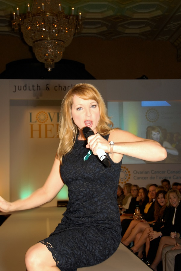 Jessica Holmes, MC of Love Her Event