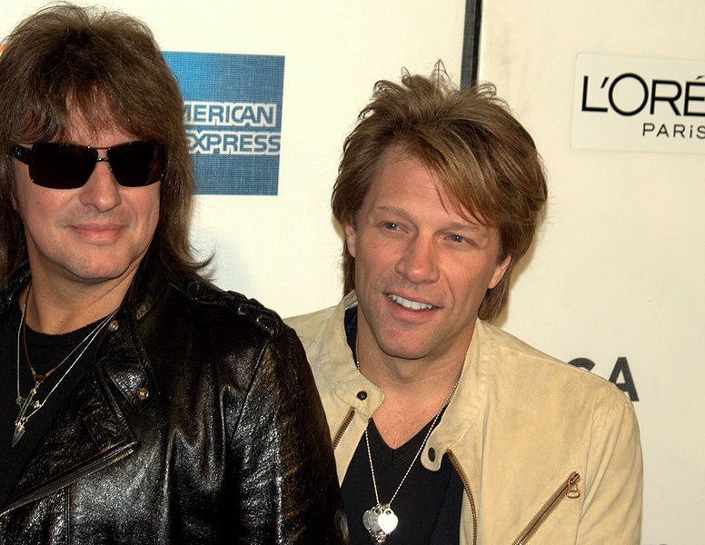 Richie Sambora and Jon Bon Jovi, photo David Shankbone