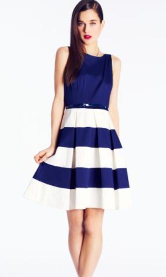 Kate Spade Celina Dress in cobalt blue, $398