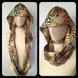 Silk Infinity Scarf from Coziwun at One of a Kind Craft Show, $50