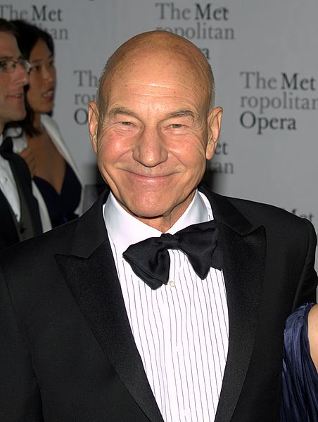 Actor Patrick Stewart of Star Trek The Next Generation, photo by David Shankbone