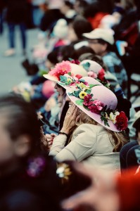 Women watching the Easter Parade in Toronto, photo kaybee07