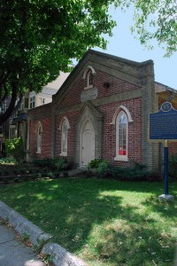 Enoch Turner Schoolhouse in Toronto, photo by Wanda G