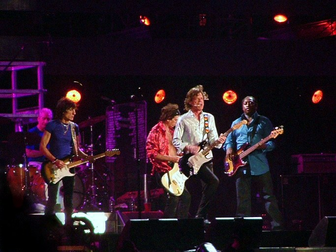 The Rolling Stones, photo Severino