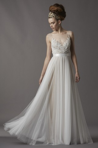 Wedding Dress from Watters Fall 2013 Collection from Felichia Bridal