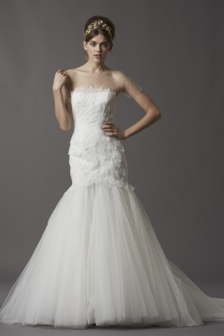 Wedding Gown from Watters Fall 2013 Collection at Felichia Bridal