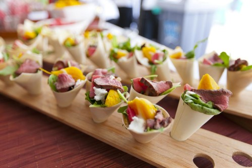Beef Cups at Toronto Taste, photo Henry Lin