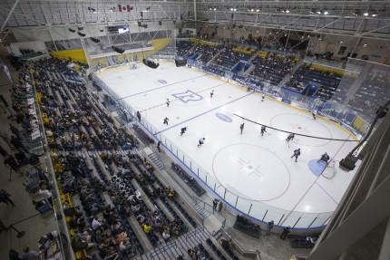 Ryerson's Mattamy Athletic Centre at Maple Leaf Gardens, photo Ryerson University