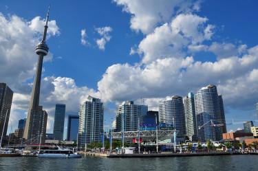 Harbourfront WestJet Stage in Toronto, photo Wanda G