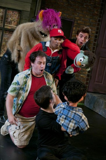 Avenue Q at Lower Ossington Theatre, photo Seanna Kennedy