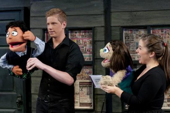 Graham Scott Fleming and Jacqueline Martin in Avenue Q, photo Seanna Kennedy