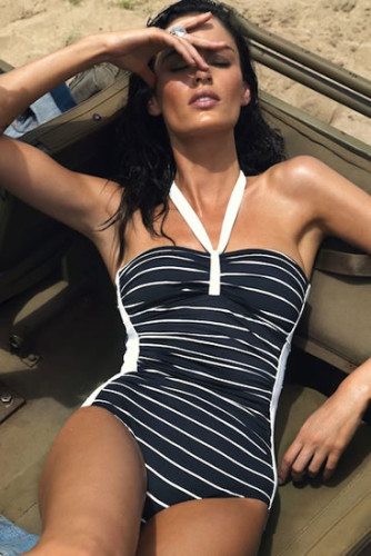 One piece bathing suit from Beachwear Unlimited
