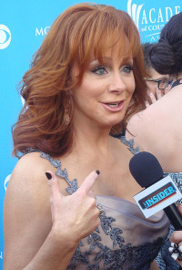 Country music singer Reba McEntire, photo Keith Hinkle