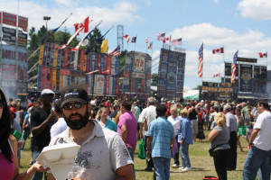 Ribfest in Etobicoke, photo Danielle Scott