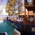 Private pool at Scottford Cottage at Irwin Inn