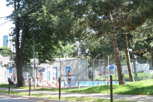 Stanley Park Pool on Walnut Street