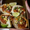 Tacos at El Catrin Restaurant, photo Ryan Emberley