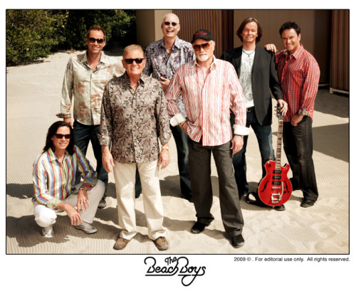 The Beach Boys perform at the CNE on August 18, 2013