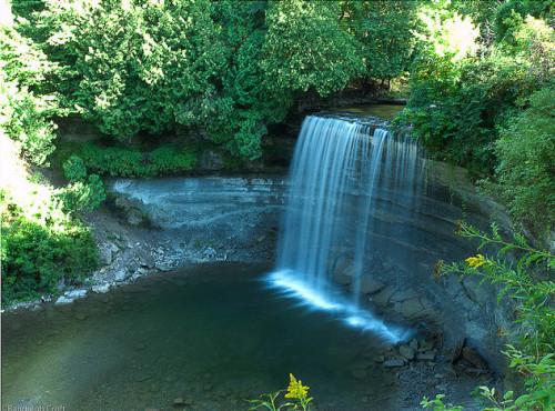 Bridal Veil Falls at Manitoulin Island, photo RC_Fotos