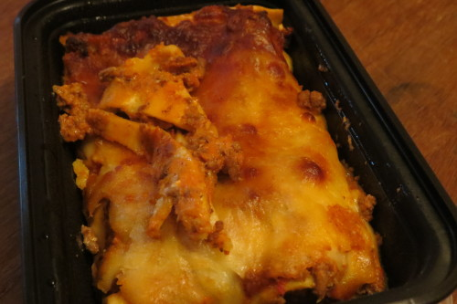 Lasagna at Loblaws at Maple Leaf Gardens