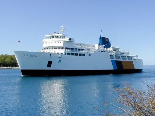 M.S. Chi-Cheemaun ferry at South Baymouth, photo pverdonk