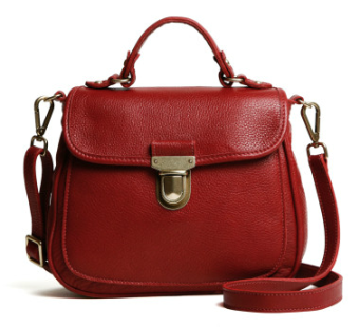 Mademoiselle Prince Handbag from Roots, $258