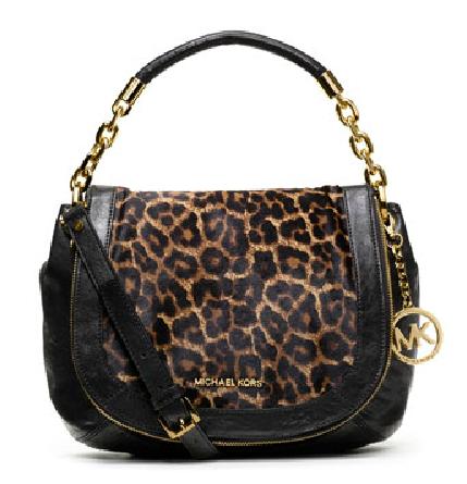 Medium Stanthorpe Calf-Hair Shoulder Bag from Michael Kors, $498