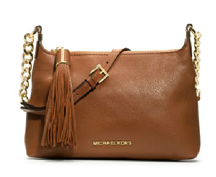Small Weston Pebbled Messenger Bag from Michael Kors, $228