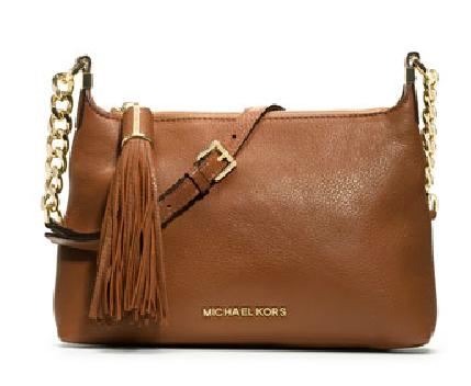 Small Weston Pebbled Messenger Bag from Michael Kors, $228