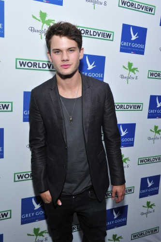 Actor Jeremy Irvine attends Bungalow 8 And Worldview Party, photo Jerod Harris