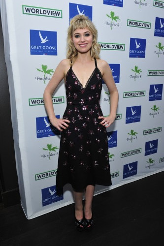 Actress Imogen Poots attends Bungalow 8 And Worldview Party, photo Jerod Harris