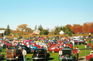 Antique Cars at Norwood Fall Fair