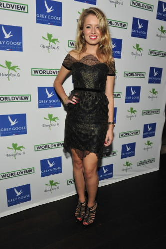 Federica Amati attends Bungalow 8 And Worldview Party, photo Jerod Harris