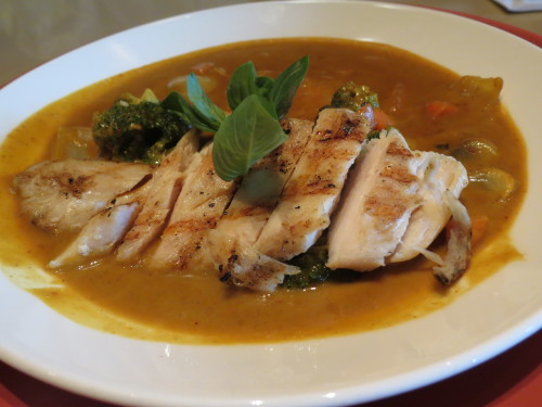 Golden Curry with Chicken Breast at Linda Modern Thai
