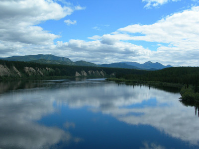 The Yukon River, photo Mavv.Rick