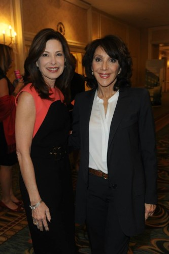 Dr. Marla Shapiro and Andrea Martin at Women for Women's Luncheon on Nov. 20