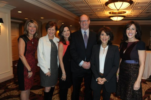 Guest speakers at Women for Women's luncheon 2013 at Fairmont Royal York