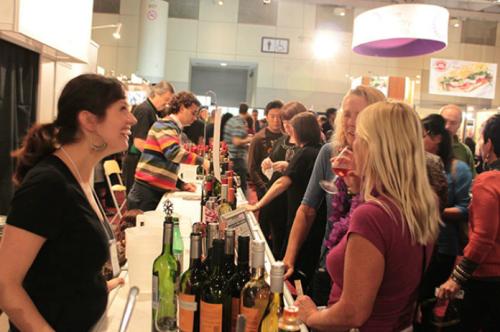 Wine Tasting at the Gourmet Food & Wine Expo
