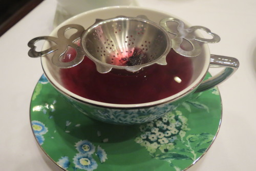 Mountain Berry Tea served at Nutcracker Tea at King Edward Hotel