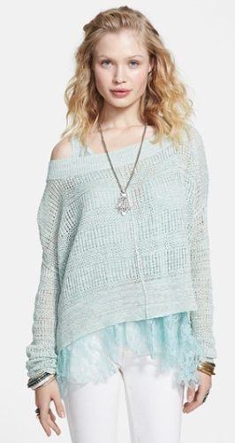 Free People Open Knit Pullover at Nordstrom, C$112.61