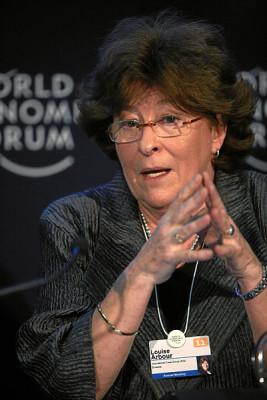 Louise Arbour, photo World Economic Forum