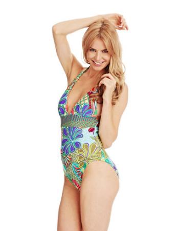 Trina Turk Zanzibar One Piece Bathing Suit from Hudson's Bay, $166