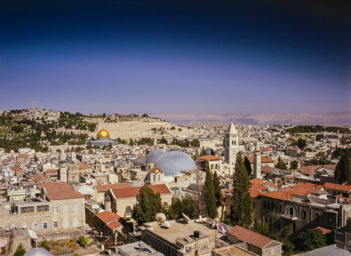 The Old City, a still from Jerusalem, an IMAX film