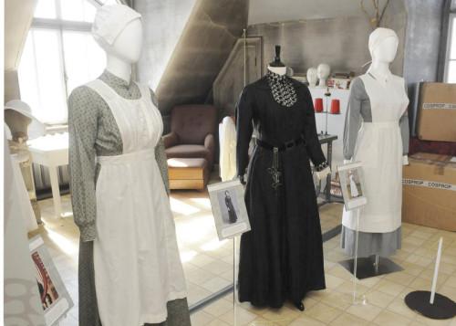 Downton Abbey exhibit at Spadina Museum, photo copyright Marc Rochette