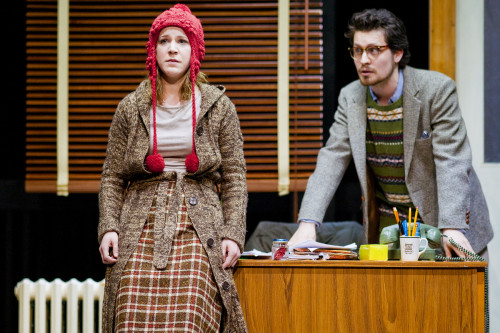 Lesley Robertson and Nicholas Porteous in Goodnight Desdemona Good Morning Juliet, photo Scott Gorman