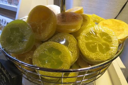 Loofah slices from Inspired Soap Works, $5