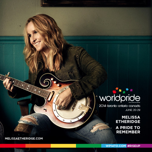 Melissa Etheridge to appear at WorldPride 2014