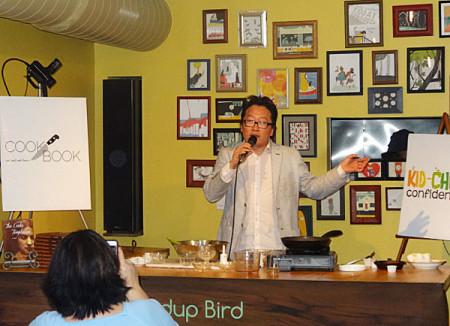 Sang Kim of Wind Up Bird Cafe, photo Diana Condolo