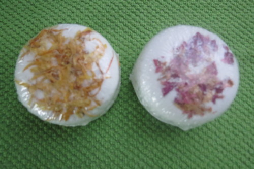 Fizzies bath bombs from Inspired Soap Works