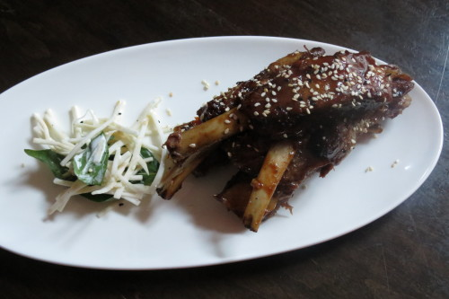 Saucy Rib 'Nibblers at Gladstone Hotel